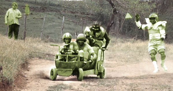 sanka et ses coequipiers dans un extrait du film rasta rockett