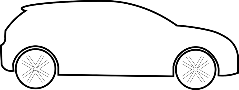 Une petite voiture